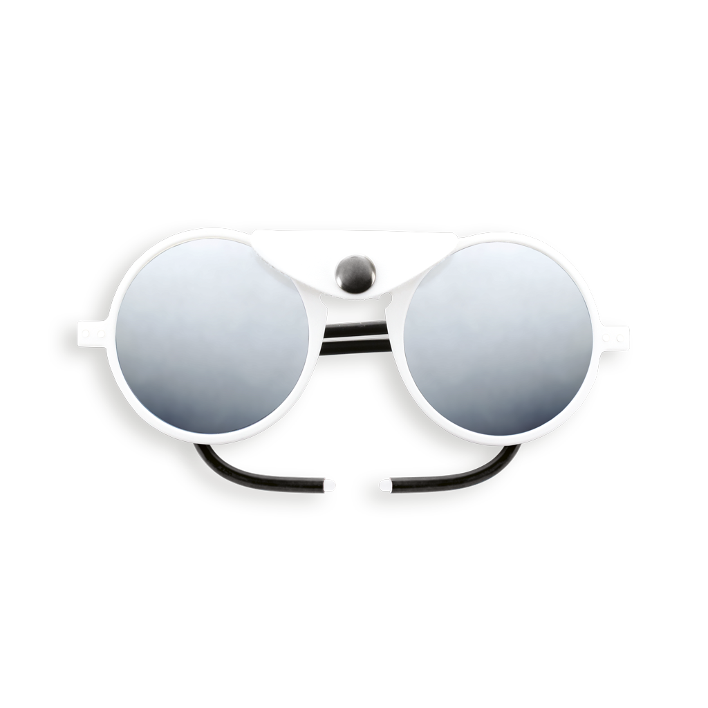 Glacier Sunglasses - Full White - Category 4