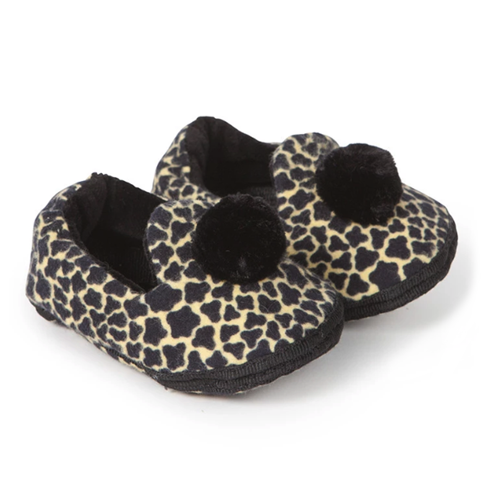 Tiger Baby Black Newborn Shoes