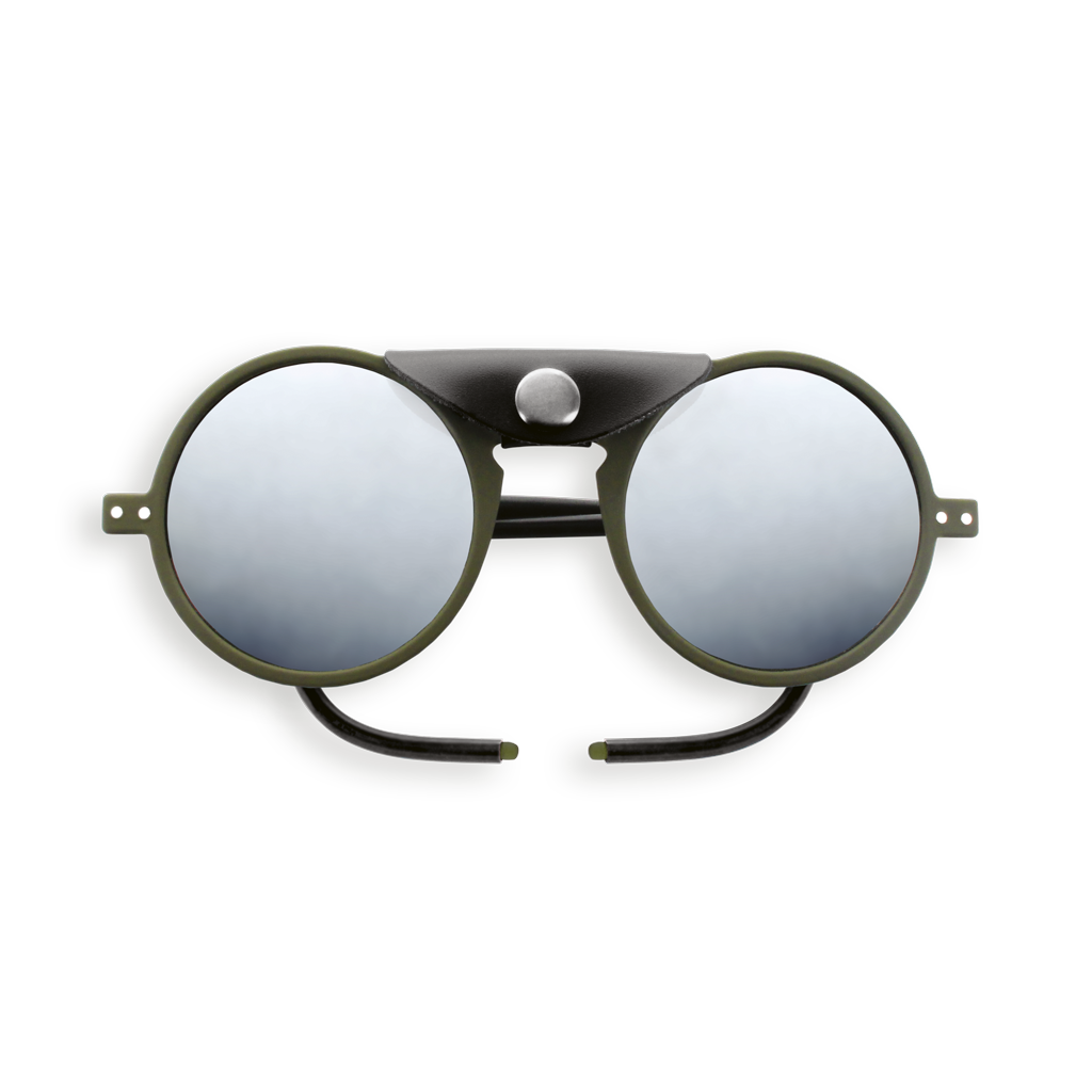 Glacier Sunglasses - Khaki - Polarized