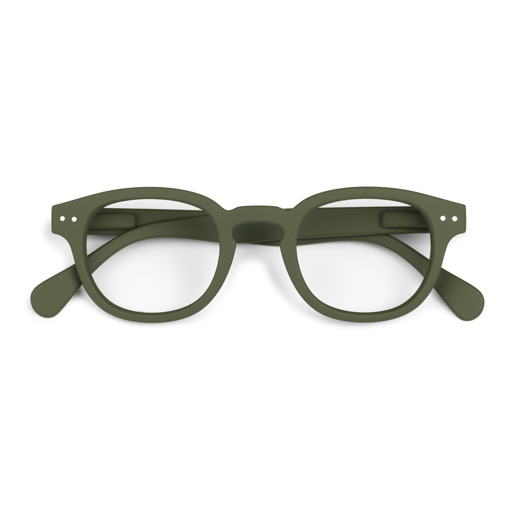 Reading Glasses - C - Khaki