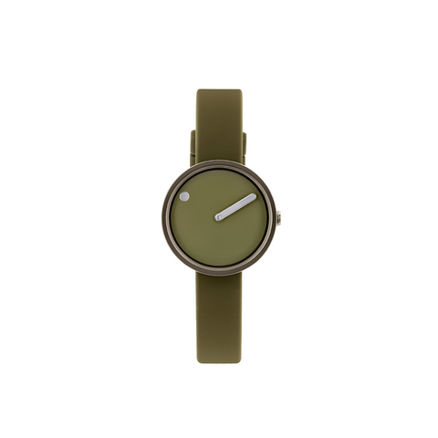 Picto - 30mm Khaki / Polished Grey