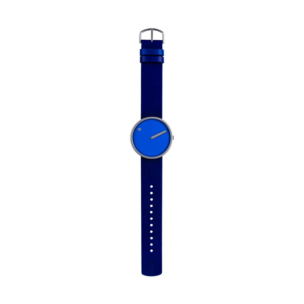 Picto - 40mm Cobalt Blue / Matt Steel