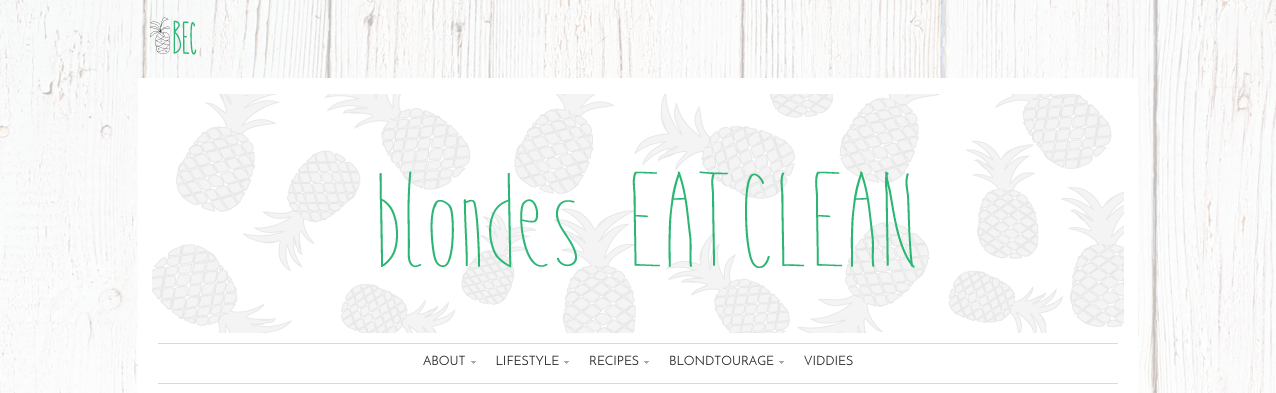 Blondes Eat Clean BlogBEC BADA$$>March 17, 2015