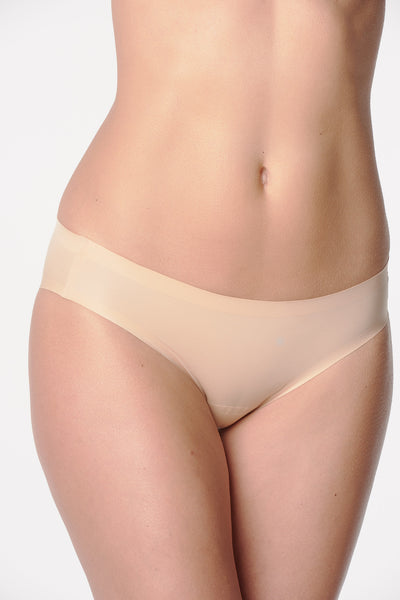 Athletic Thong Beige