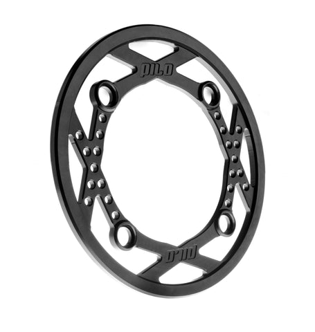 Aluminum bash guard ring 34t 4 bolts 104 BCD