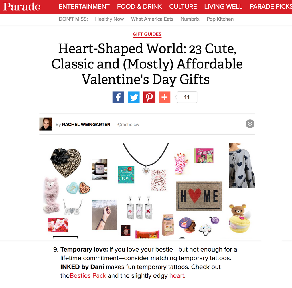 Parade Magazine - Valentine's Day!