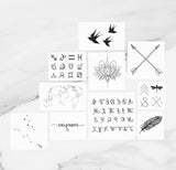 INKED by dani Temporary Tattoos - Best Sellers Bundle