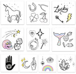 INKED by dani Temporary Tattoos - Luck & Magic Pack
