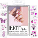 INKED by dani Temporary Tattoos - Pretty in Pink Pack