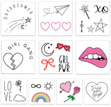 INKED by dani Temporary Tattoos - Girl Gang Pack