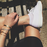 INKED by dani Temporary Tattoos - Wave