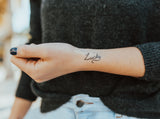 INKED by dani Temporary Tattoos - Radical Trio