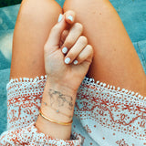 INKED by dani Temporary Tattoos - The World Map