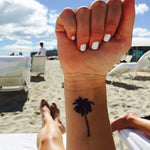 INKED by dani Temporary Tattoos - Beachy Palm