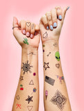 INKED by dani Temporary Tattoos - Deluxe Assorted Party Pack