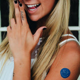 INKED by dani Temporary Tattoos - New York State of Mind Smiley