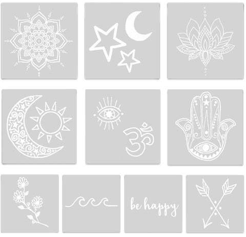 INKED by dani Temporary Tattoos - Ivory Pack