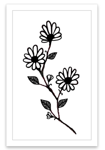 INKED by dani Temporary Tattoos - Flowered Vines