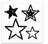 INKED by dani Temporary Tattoos - Sparkly Stars