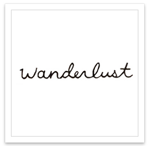 INKED by dani Temporary Tattoos - Wanderlust