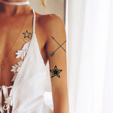 INKED by dani Temporary Tattoos - Double Arrows
