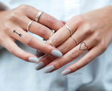 small finger temporary tattoos