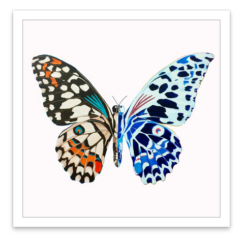 INKED by dani Temporary Tattoos - Butterfly