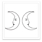 INKED by dani Temporary Tattoos - Double Moons