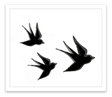 INKED by dani Temporary Tattoos - Flying High