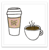 INKED by dani Temporary Tattoos - Coffee is Bae