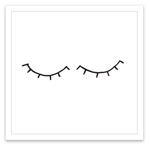 INKED by dani Temporary Tattoos - Lashes
