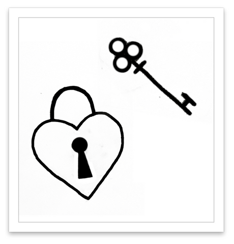 INKED by dani Temporary Tattoos - Lock & Key
