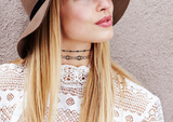 INKED by dani Temporary Tattoos - Bejeweled Choker (3 pack)