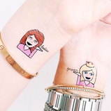INKED by dani Temporary Tattoos - Besties Pack