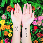 INKED by dani Temporary Tattoos - Peace & Harmony