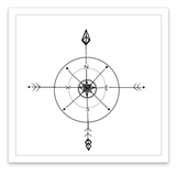 INKED by dani Temporary Tattoos - Follow Your Inner Compass