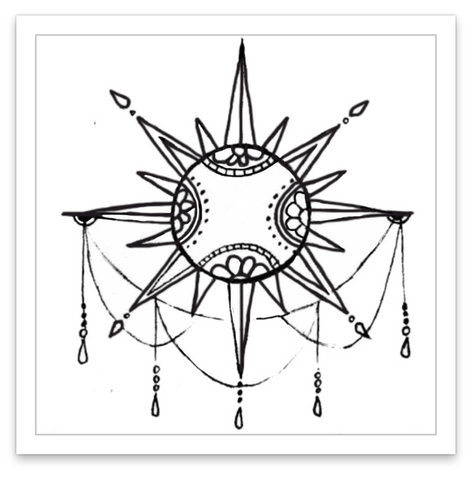 INKED by dani Temporary Tattoos - Solar Opulence