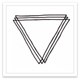 INKED by dani Temporary Tattoos - Triangular Prism
