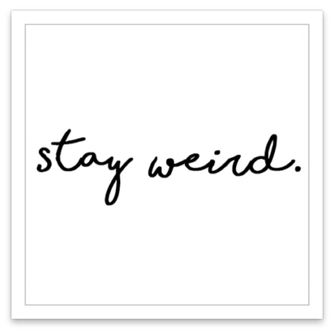 INKED by dani Temporary Tattoos - Stay Weird