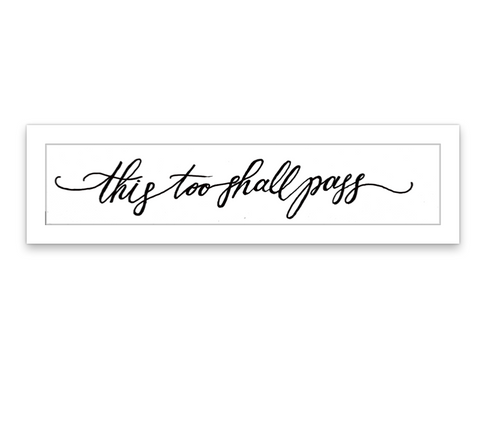 INKED by dani Temporary Tattoos - This Too Shall Pass