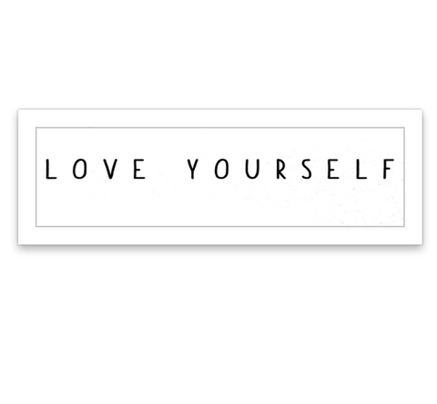 INKED by dani Temporary Tattoos - Love Yourself