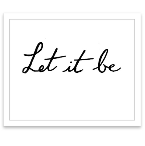 INKED by dani Temporary Tattoos - Let It Be