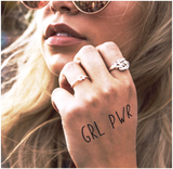 INKED by dani Temporary Tattoos - Girl Power