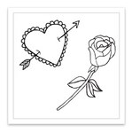 INKED by dani Temporary Tattoos - Embroidered Mini Set