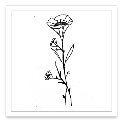 INKED by dani Temporary Tattoos - Delicate Daisy