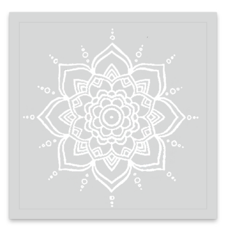 INKED by dani Temporary Tattoos - Ivory Mandala