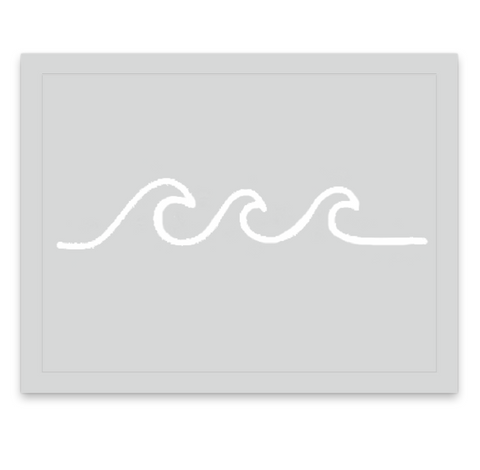 INKED by dani Temporary Tattoos - Ivory Wave