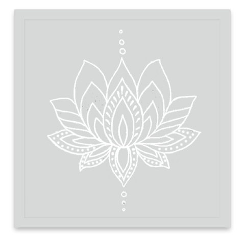 INKED by dani Temporary Tattoos - Ivory Lotus