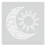 INKED by dani Temporary Tattoos - Ivory Lunar Eclipse