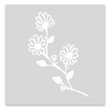 INKED by dani Temporary Tattoos - Ivory Flowered Vines